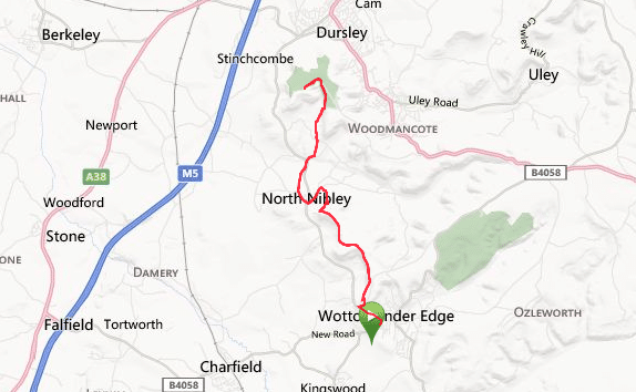 Cotswold Way: Wootton to Stinchcombe section