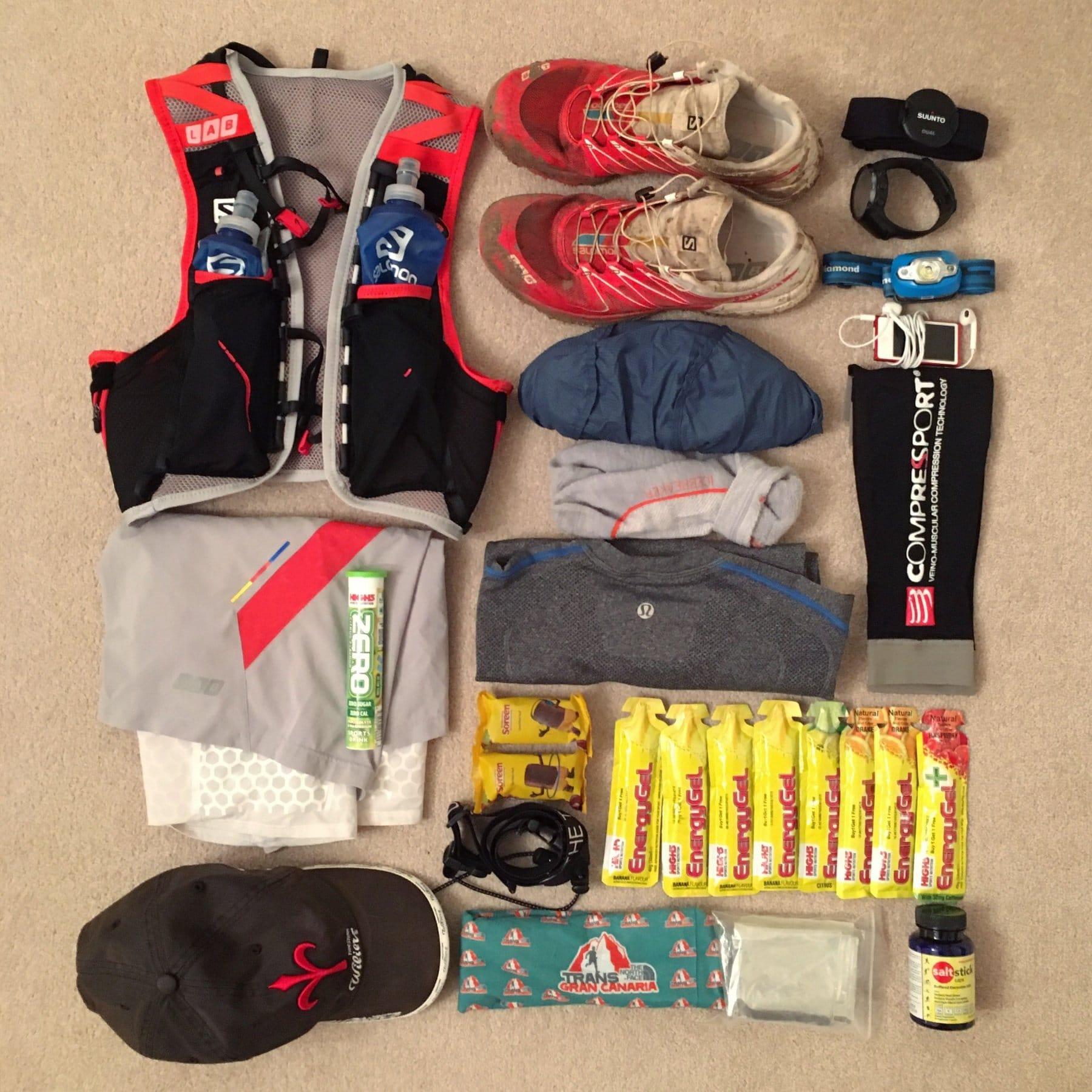 CTS Gower Trail Marathon - Running In Crazy Bad Weather
