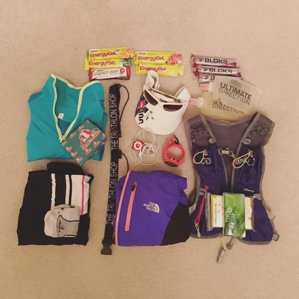 Race kit for CTS Exmoor Marathon