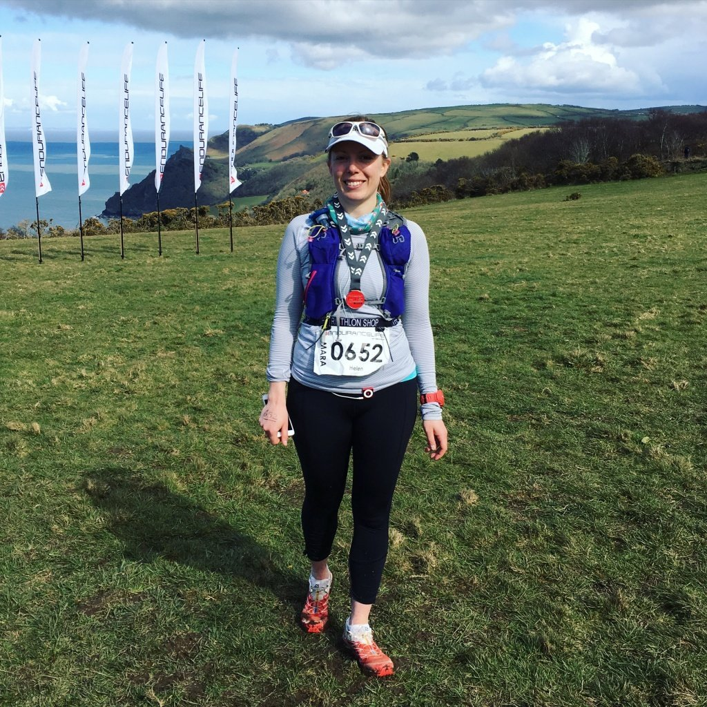 I finished the CTS Exmoor marathon!