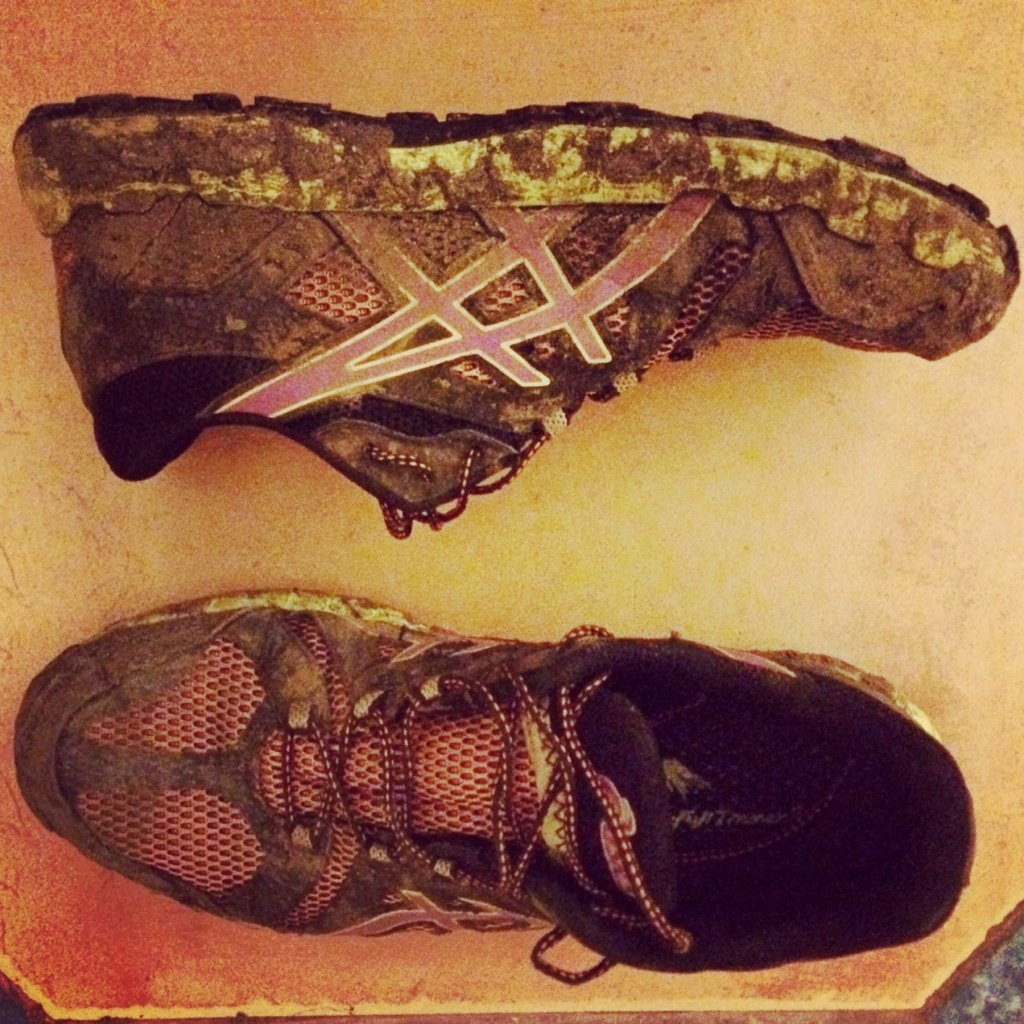 Asics Gel Fuji Trainer 3s. Comfortable and lightweight