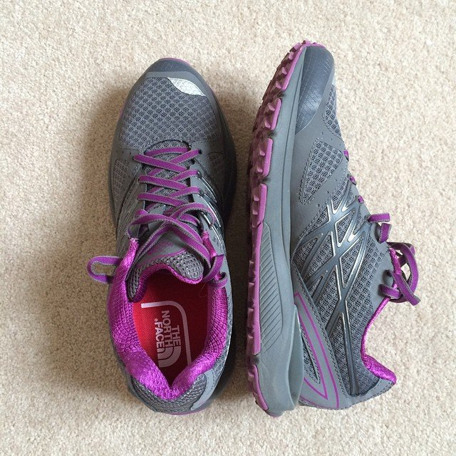 New North Face 'Cardiac' trail shoes
