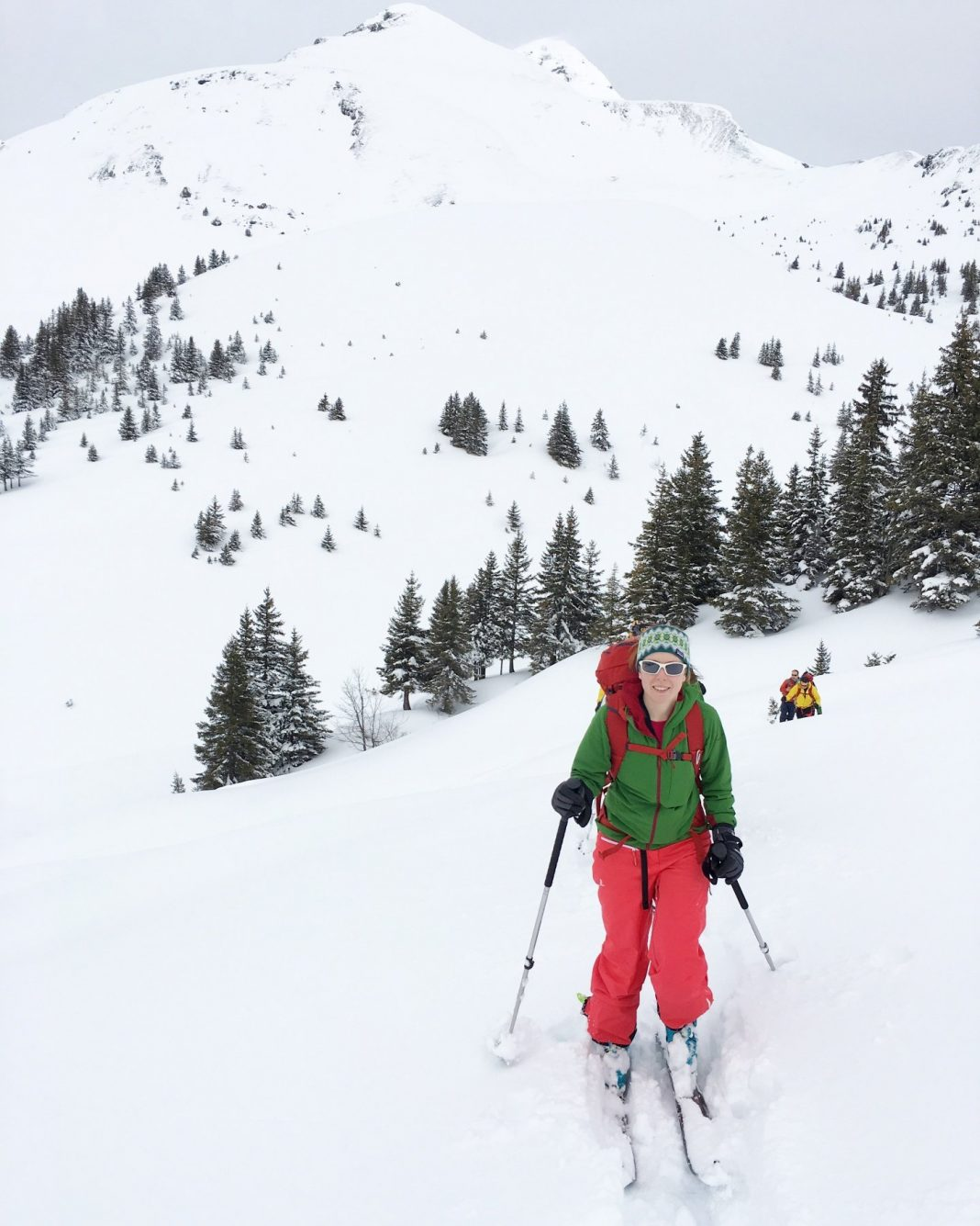 Ski touring Grindelwald