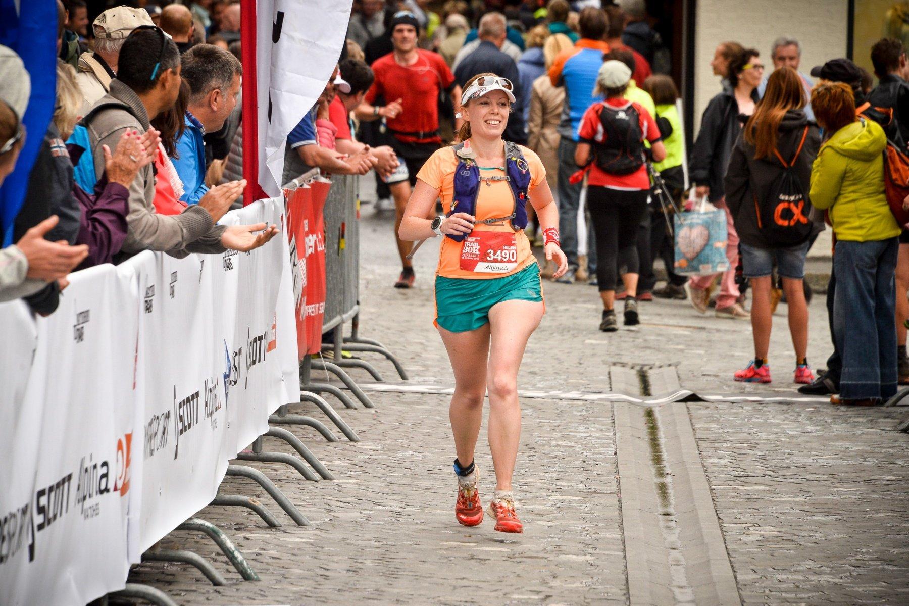 Finishing Matterhorn Ultraks 30k 2016