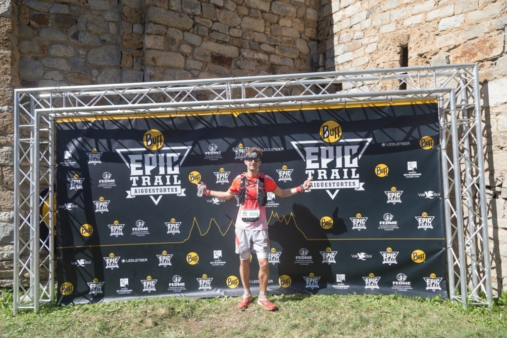 Buff Epic Trail - Happy finisher