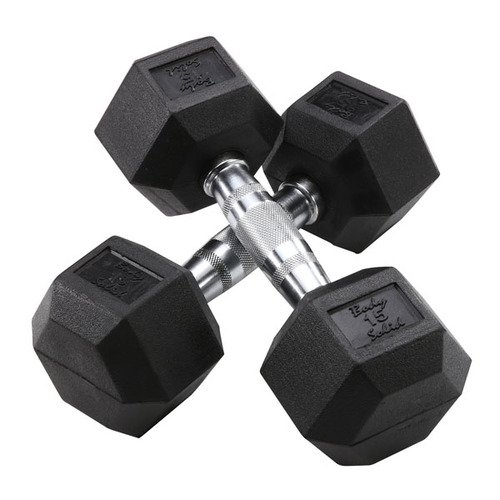 Body Solid Hex Dumbbells - gifts for trail runners