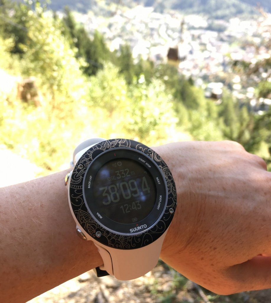 What to wear trail running: Suunto Ambit 3S Customised