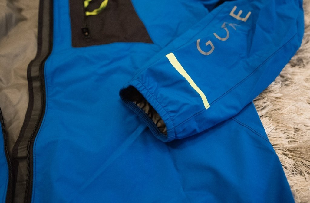 gore running wear fusion windstopper active shell - cuffs