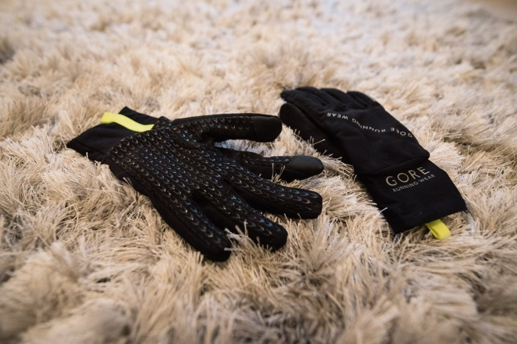 gore running wear fusion - windstopper gloves