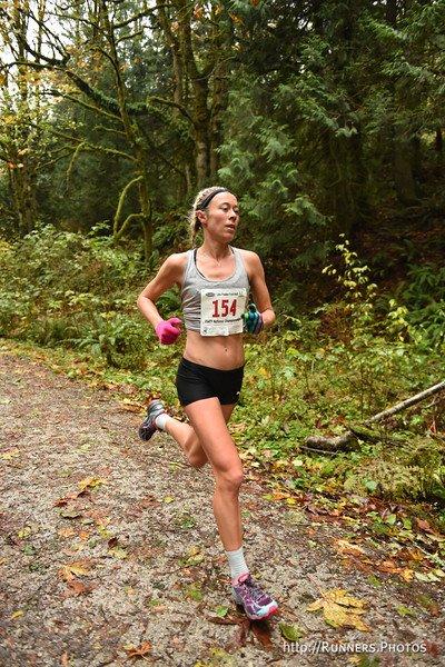 My first trail race--the U.S. Trail Half Marathon Champs (6th Place) - Photo Takao Suzuki