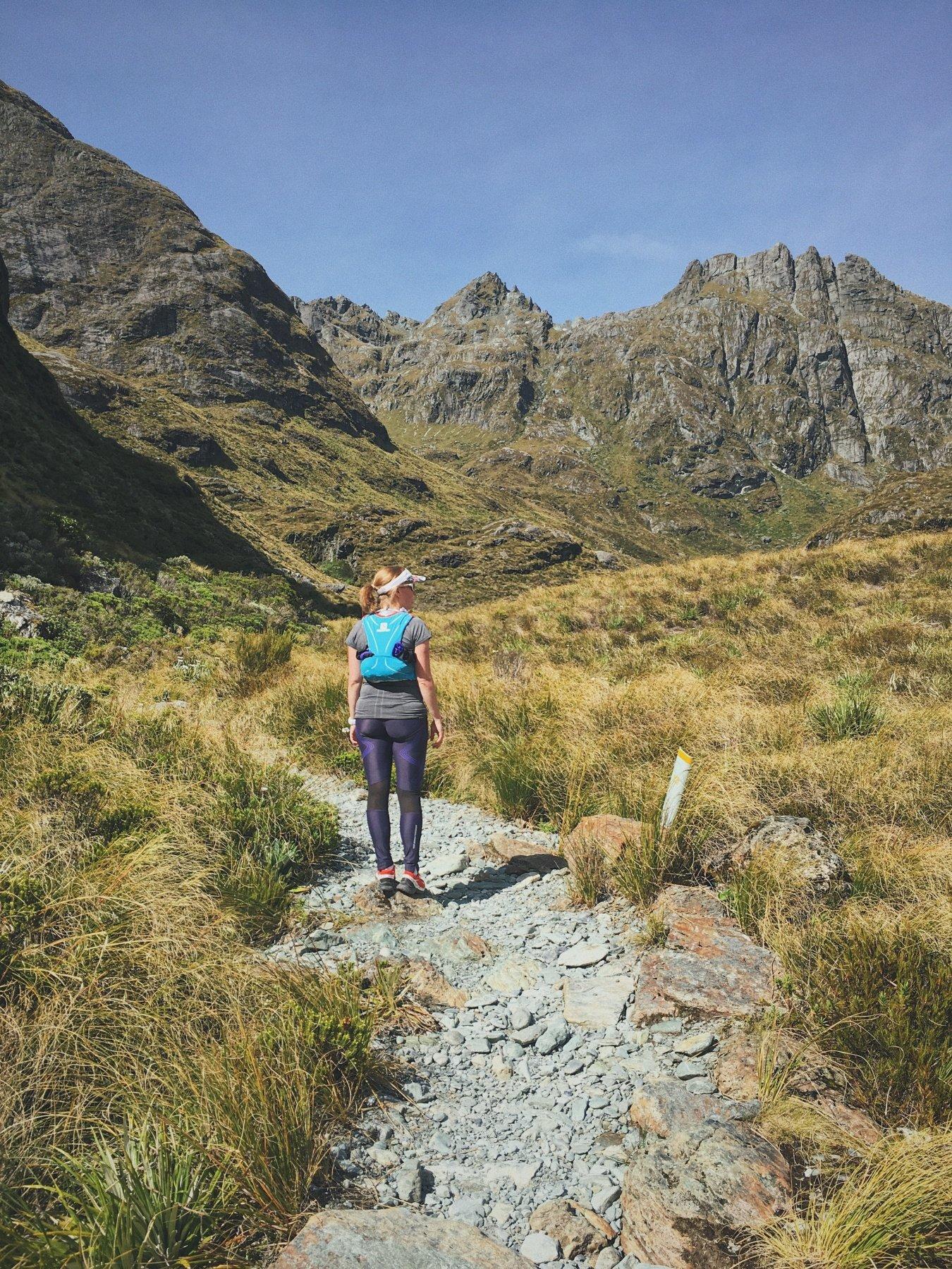 Running New Zealand Routeburn Track