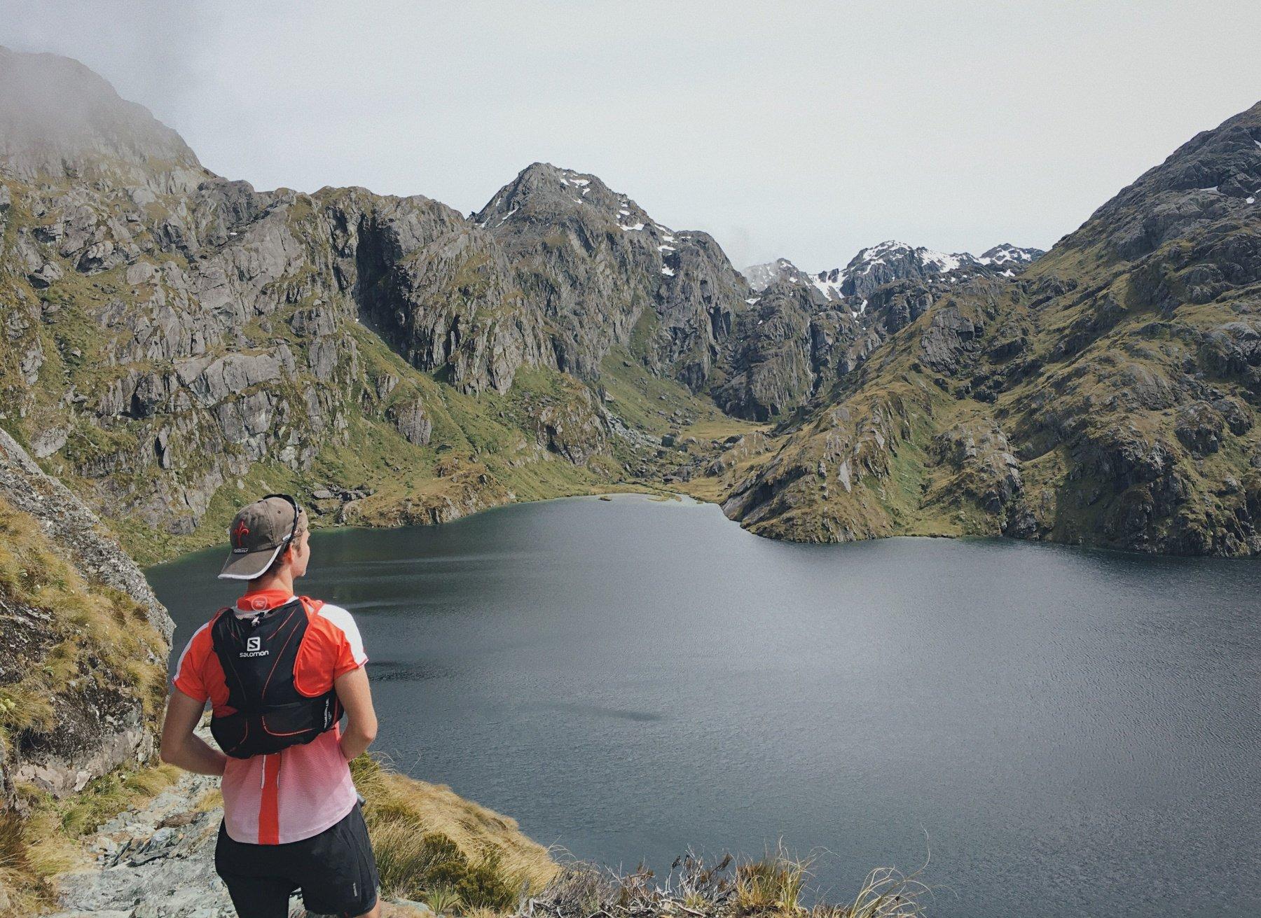 Running streak Trail and Kale