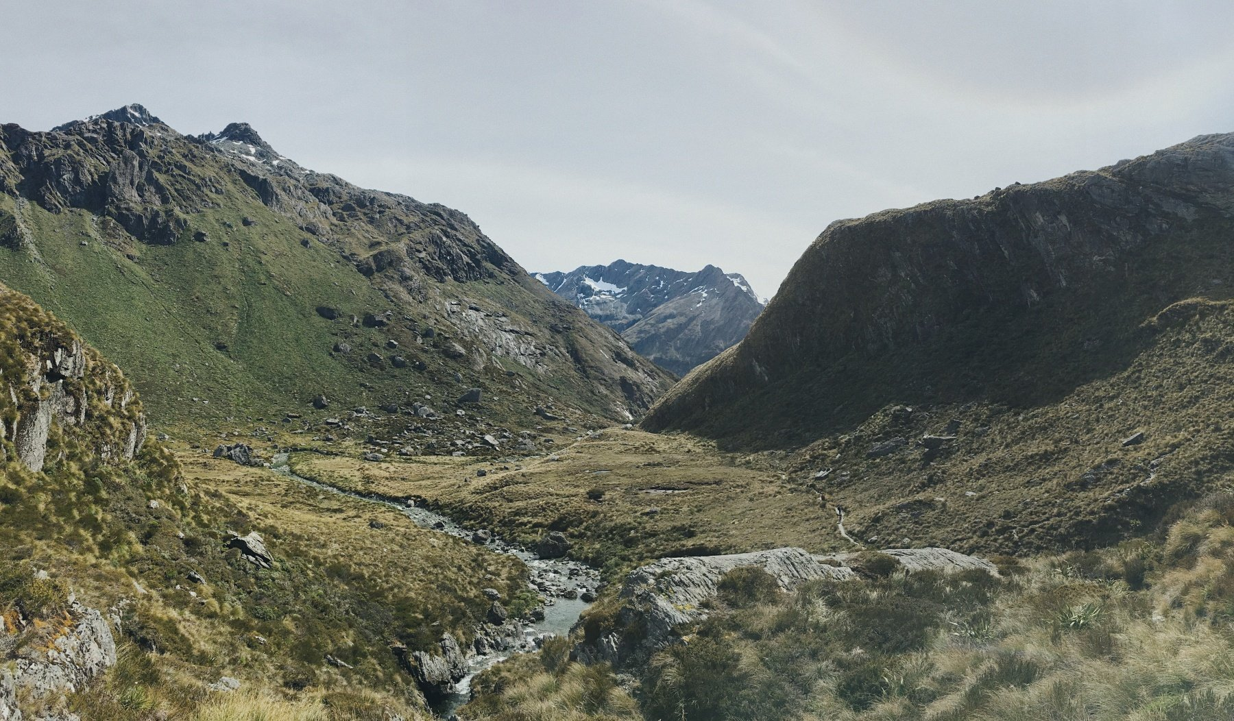 Running the Routeburn Track