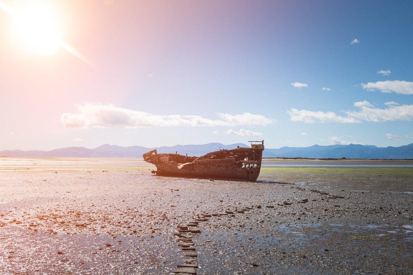 Motueka shipwreck