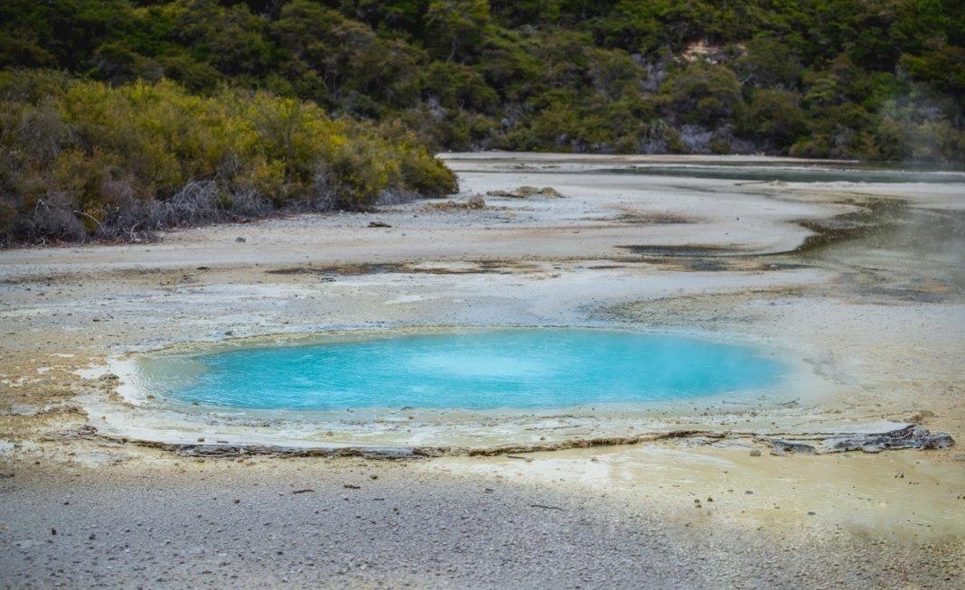 Rotorua blue pool