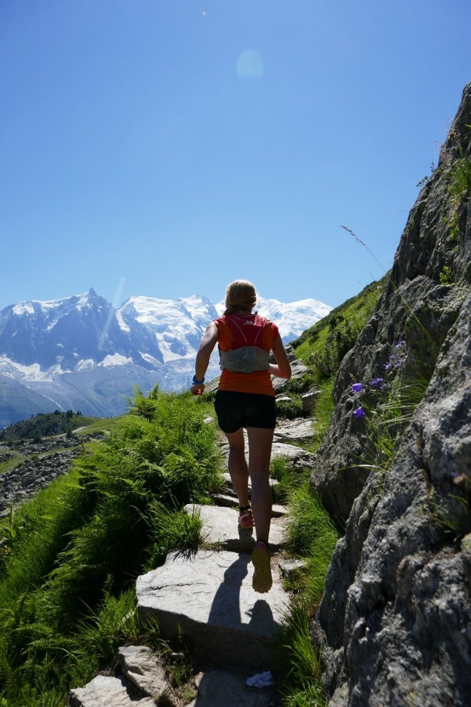 Trail and Kale Runner Interview Elisabeth Borgersen in Chamonix