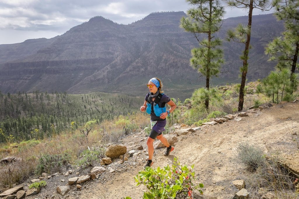 Trail and Kale Runner Interview Elisabeth Borgersen running Transgrancanaria Advanced