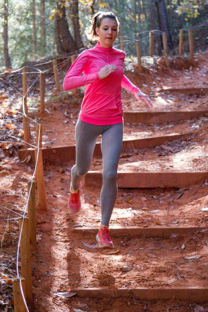 Charlotte Martin running