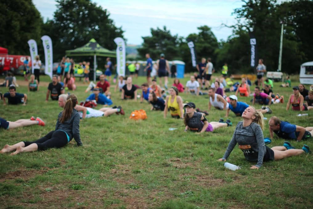 Yoga workshops at Salomon Sunset Series Bristol
