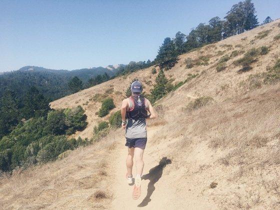 Trail Running in Marin California