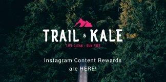 Trail & Kale Instagram Content RewardsTrail & Kale Instagram Content Rewards