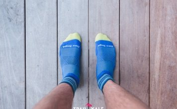 Darn Tough Socks Review - Coolmax Vertex 1 Quarter - Darn Tough running socks review - Trail & Kale-5-min