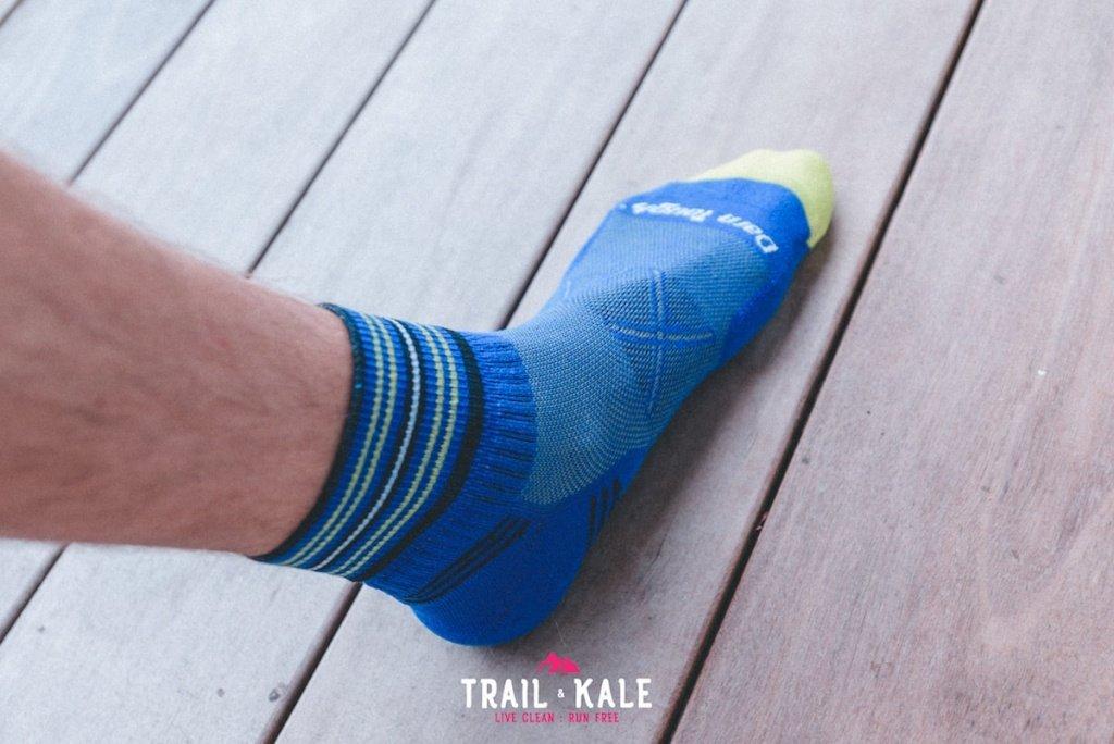 Darn Tough Coolmax Vertex 1 Quarter - Darn Tough running socks review - Trail & Kale-6-min