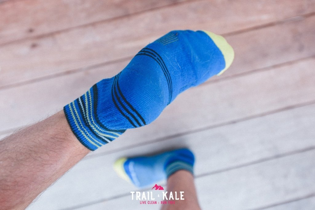 Darn Tough Socks Review - Coolmax Vertex 1 Quarter - Darn Tough running socks review - Trail & Kale-8-min