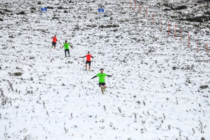 Inov-8 Downhill Running race - The Descent - Trail & Kale