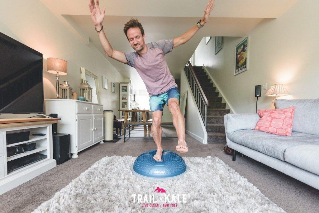 Bosu Balance Trainer - Trail & Kale-2-min