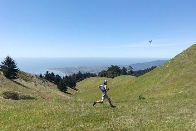 run-hiking in marin california - trail & kale