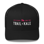 trail & kale trail running hat