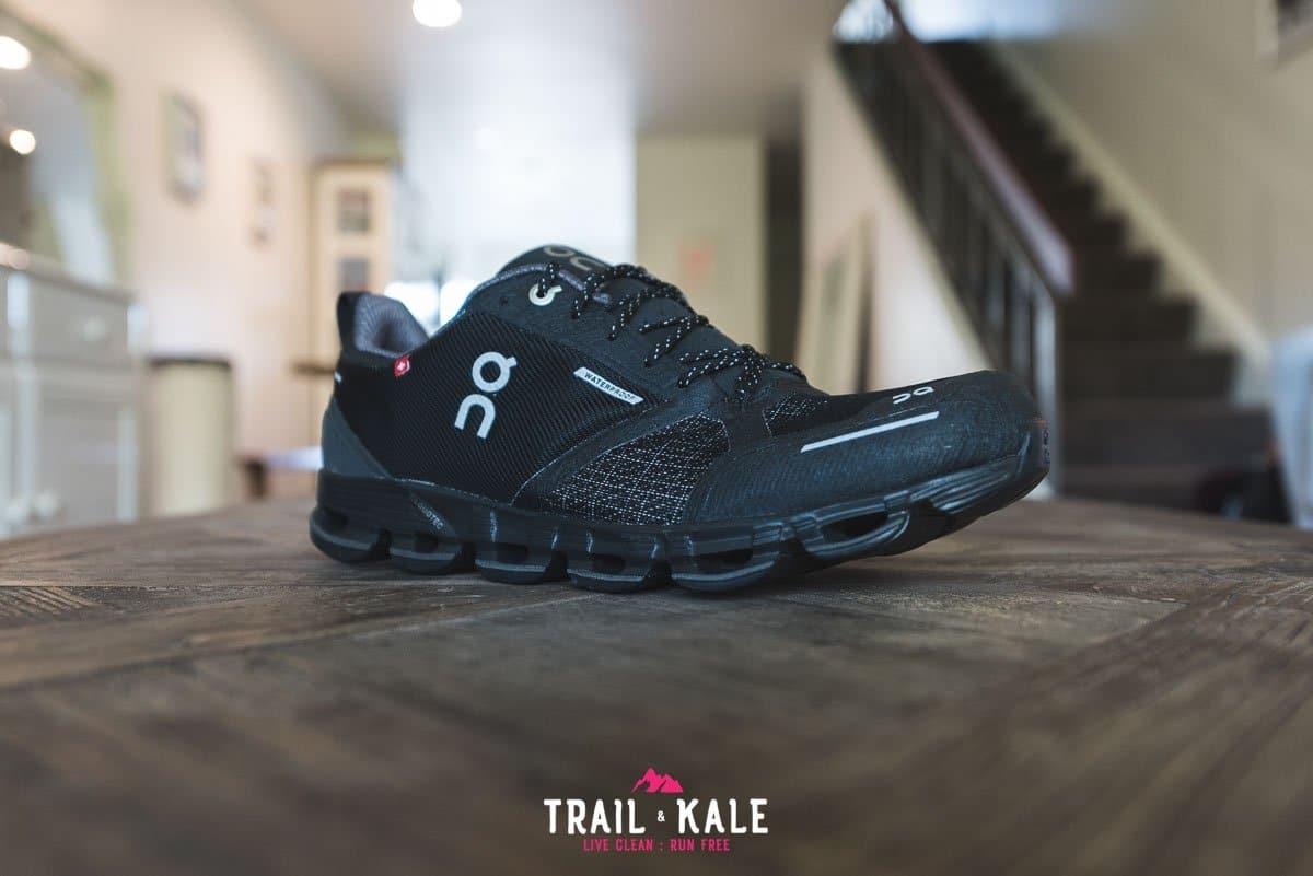 On Cloudflyer Waterproof men's review - Trail & Kale wm-2