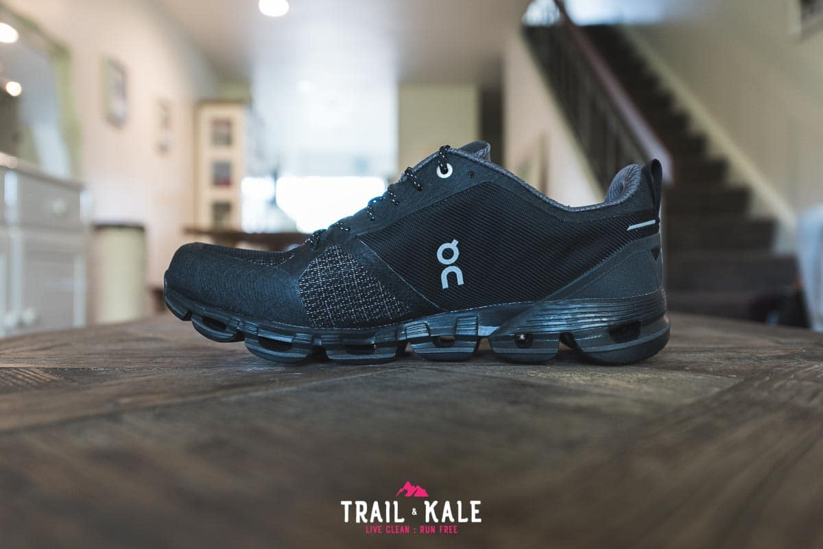 On Cloudflyer Waterproof men's review - Trail & Kale wm-4