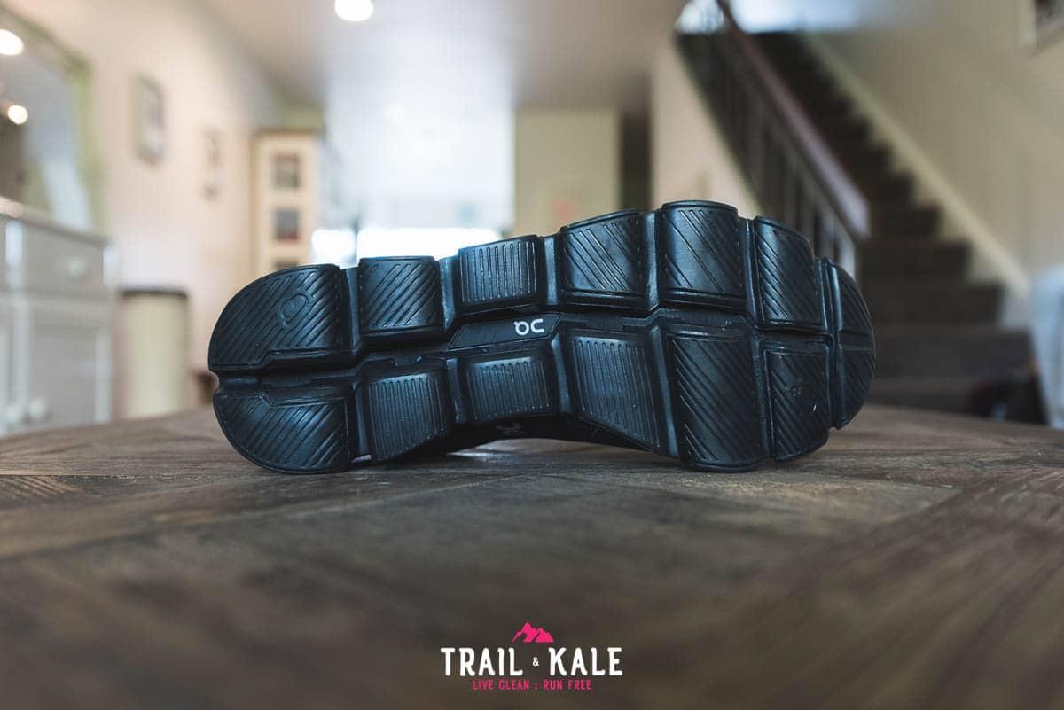 On Cloudflyer Waterproof men's review - Trail & Kale wm-7