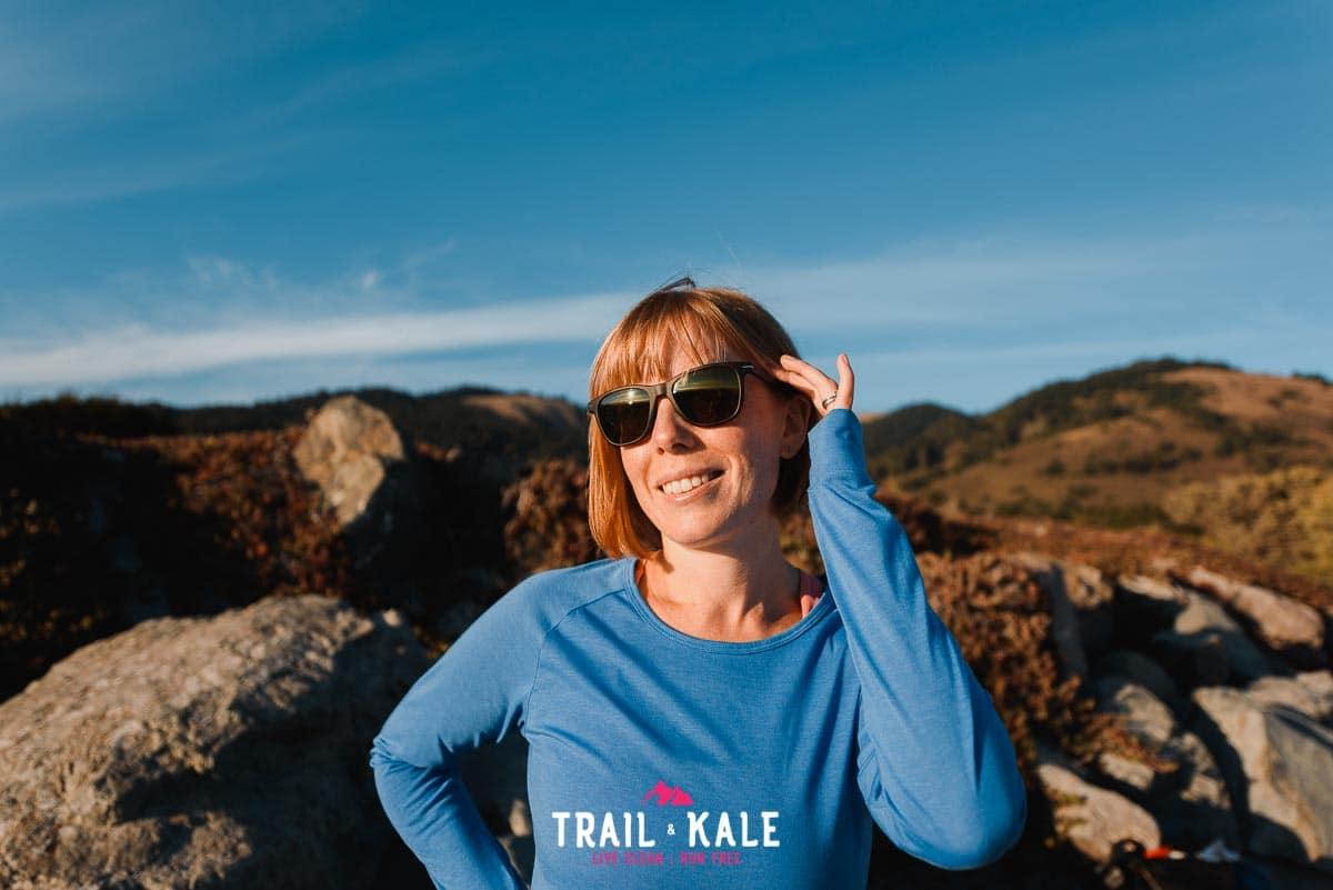 Stio Clothing - stio women's divide tech tee long sleeve - trail & kale wm-2