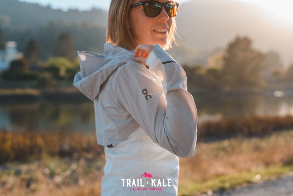 On Weather Jacket Womens review Trail Kale sml wm 5
