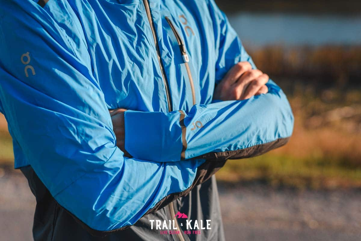On Weather Jacket mens review Trail Kale sml wm 3