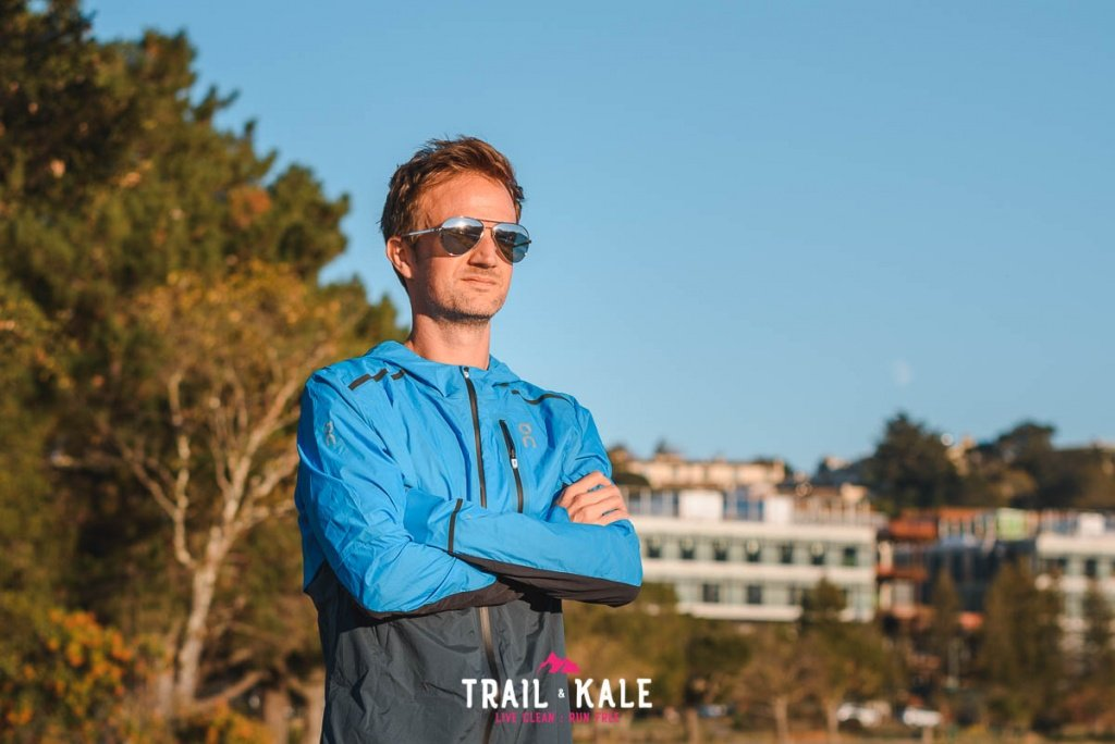 On Weather Jacket mens review Trail Kale sml wm 5