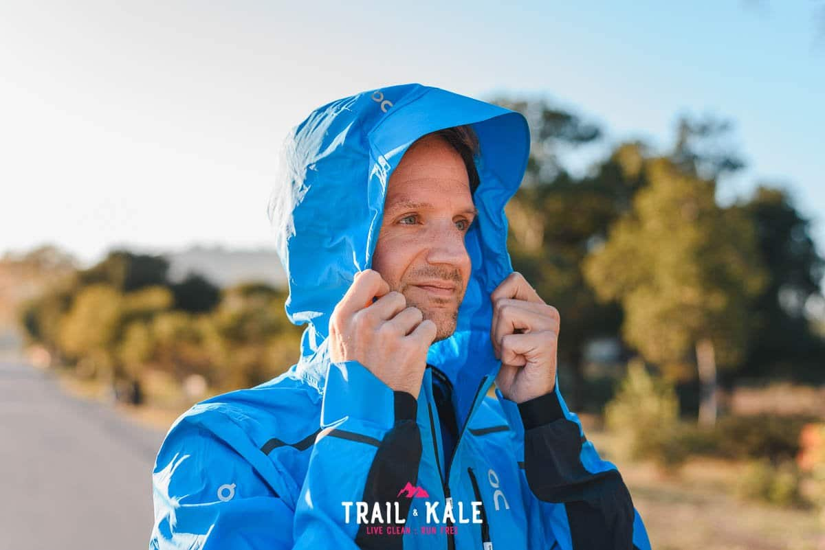 On Weather Jacket mens review Trail Kale sml wm 6