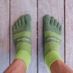 Injinji Trail Midweight Mini Crew review Trail Kale web featured