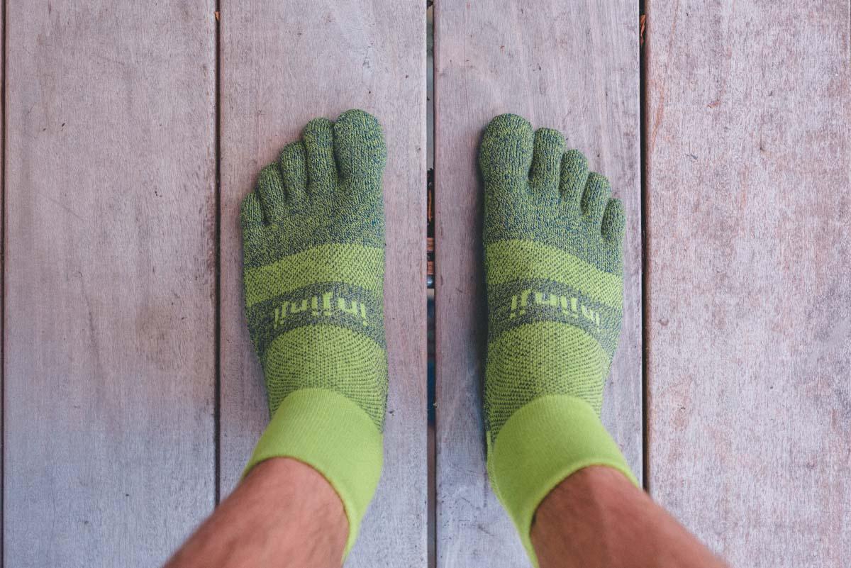 Performance Toe Socks For Trail Running