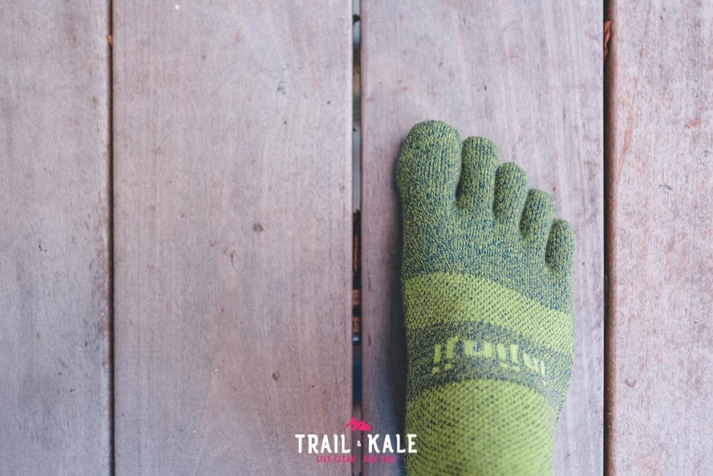 Injinji Trail Midweight Mini Crew review Trail Kale web wm 3