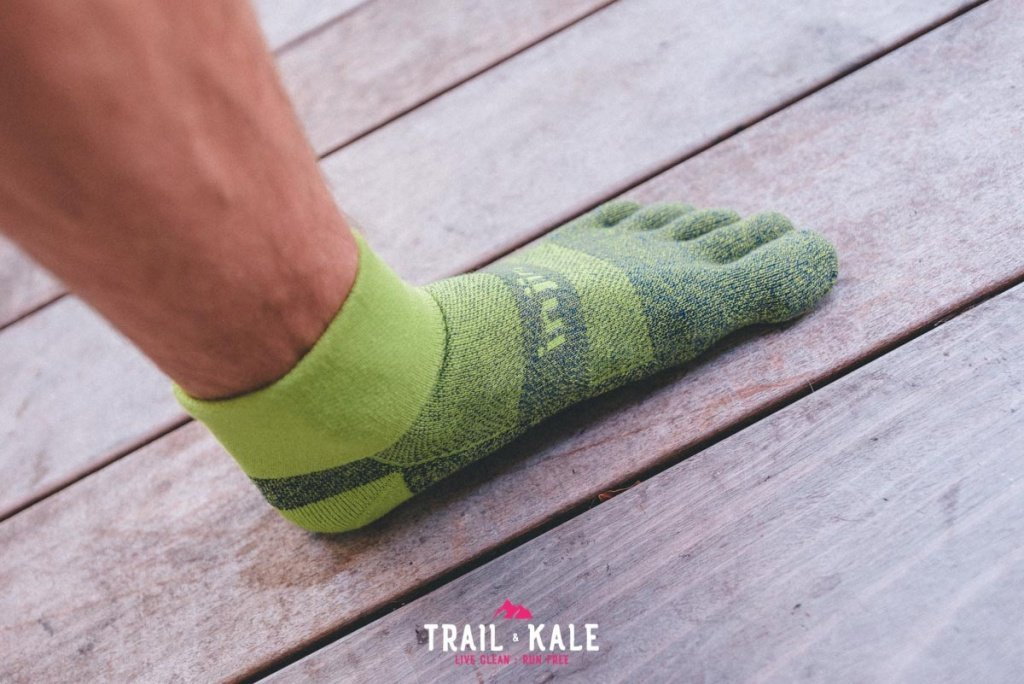 Injinji Trail Midweight Mini Crew review Trail Kale web wm 5