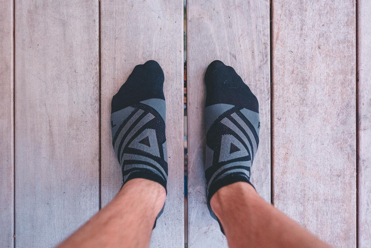 On running socks low review Trail Kale web featured