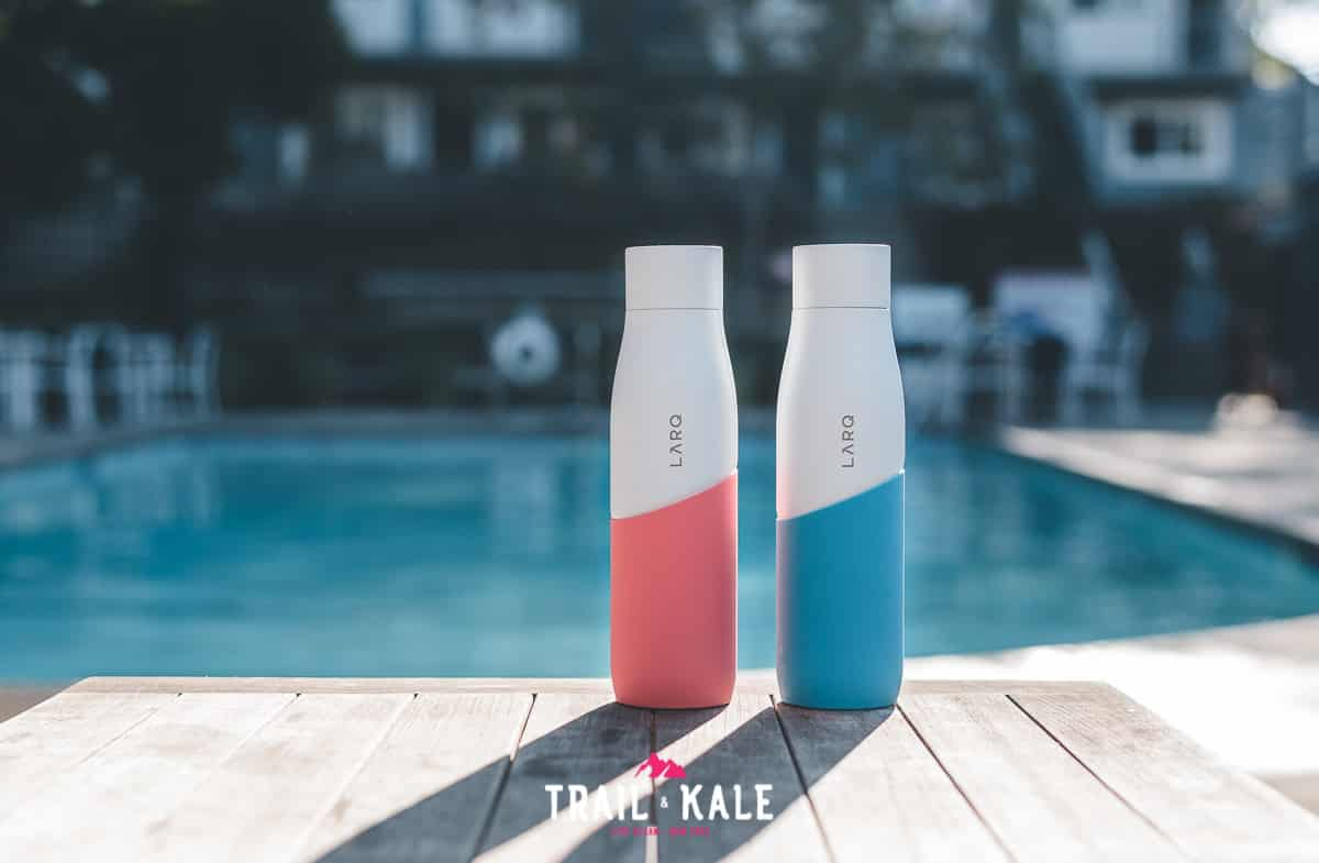 The LARQ Bottle Movement review trail and kale wm 1