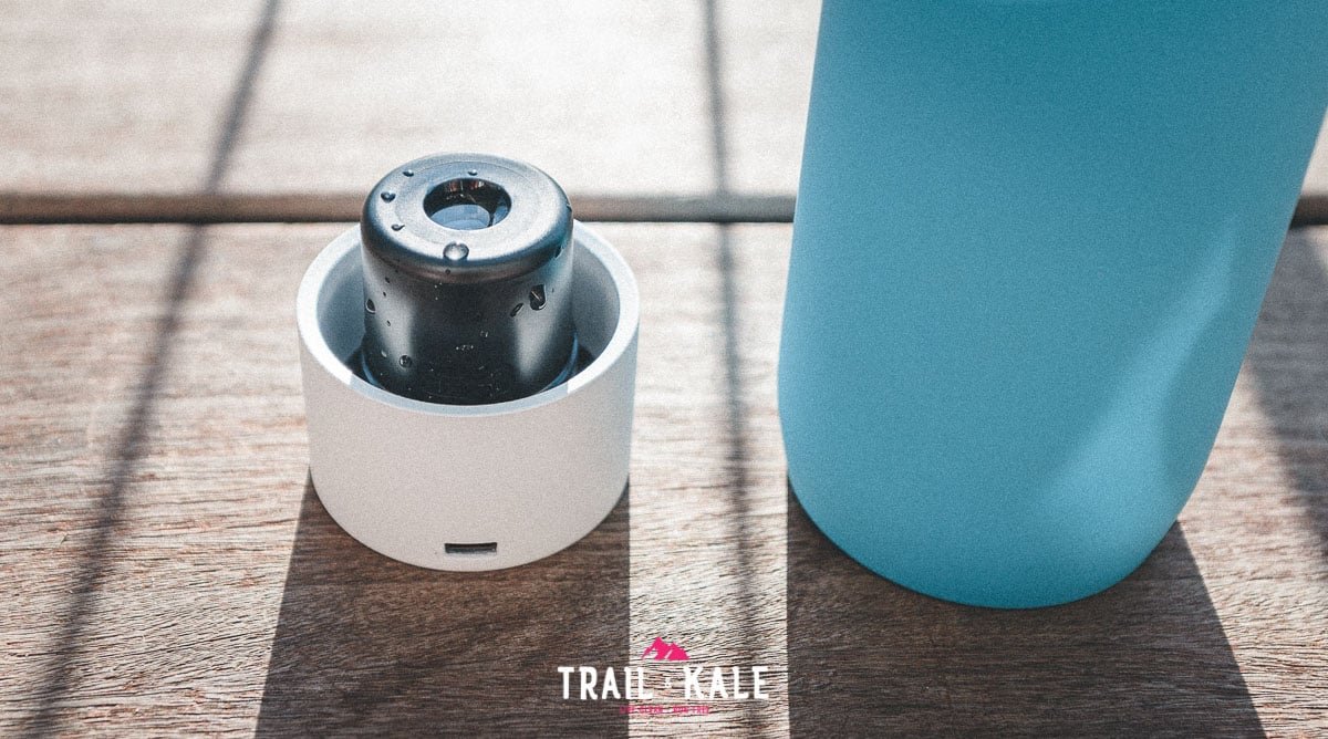 The LARQ Bottle Movement review trail and kale wm 7