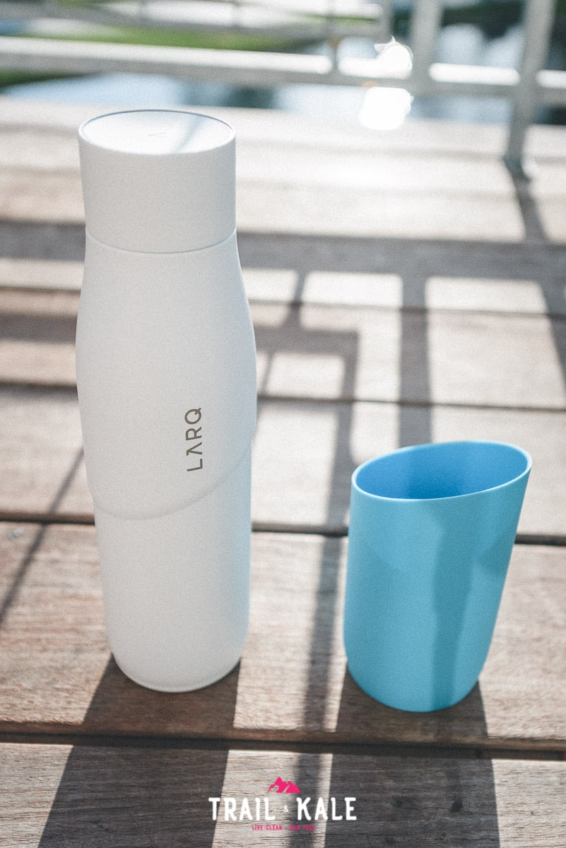 The LARQ Bottle Movement review trail and kale wm 9