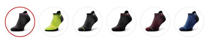 rockay accelerate socks review colors