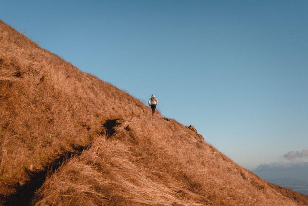 Mt Tamalpais sunset adventure Trail Kale web 18